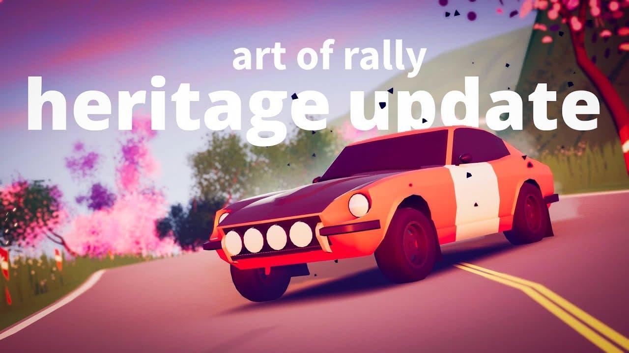 art of rally heritage update arr