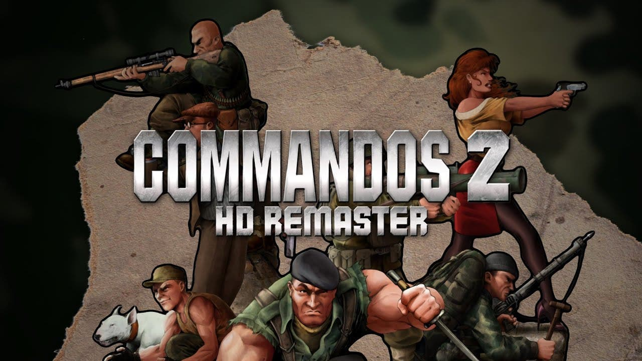 commandos 2 hd remaster now avai