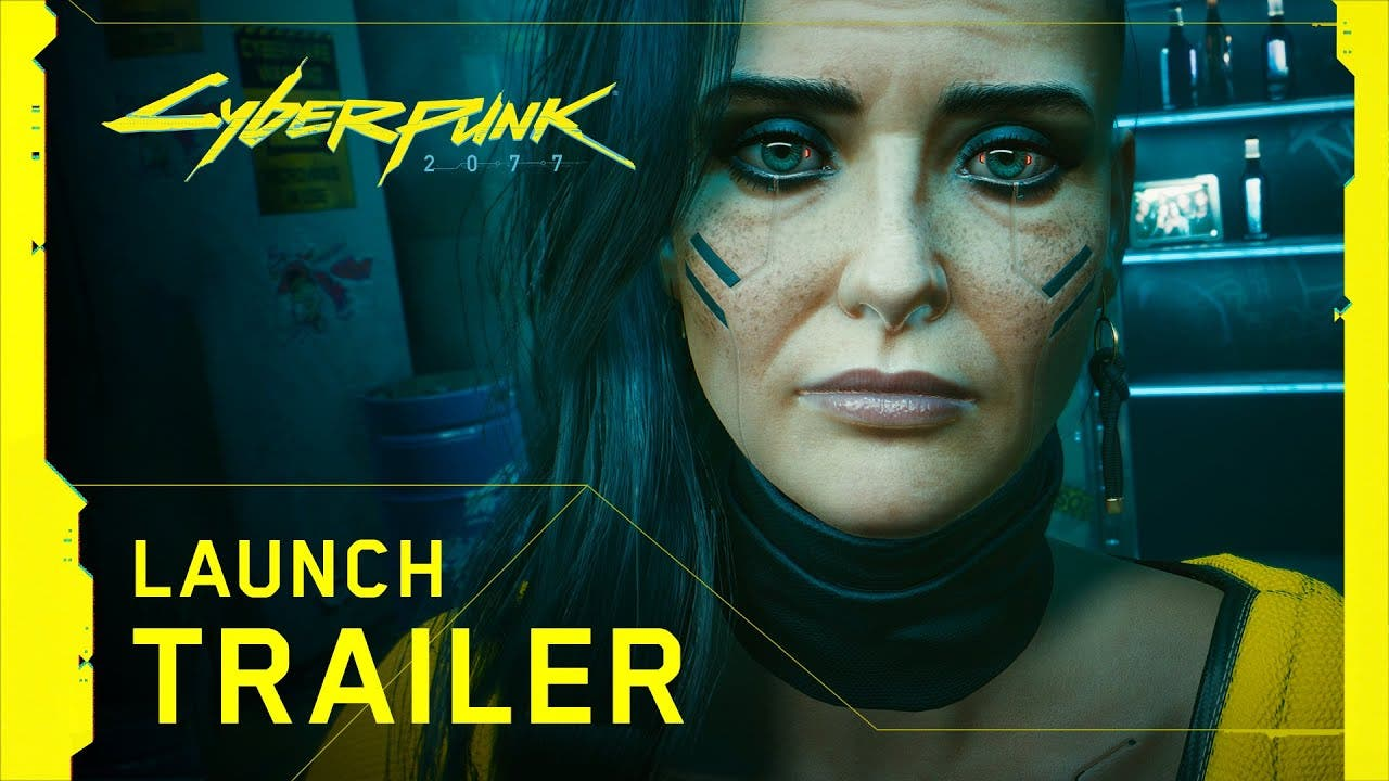 cyberpunk 2077 launch trailer ex