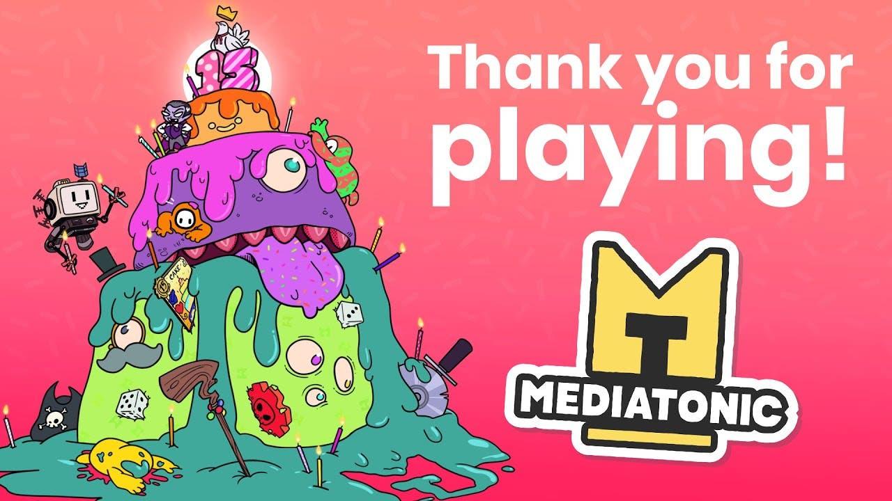 mediatonic celebrates 15th anniv