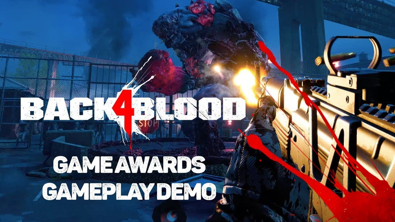 the game awards 2020 back 4 bloo
