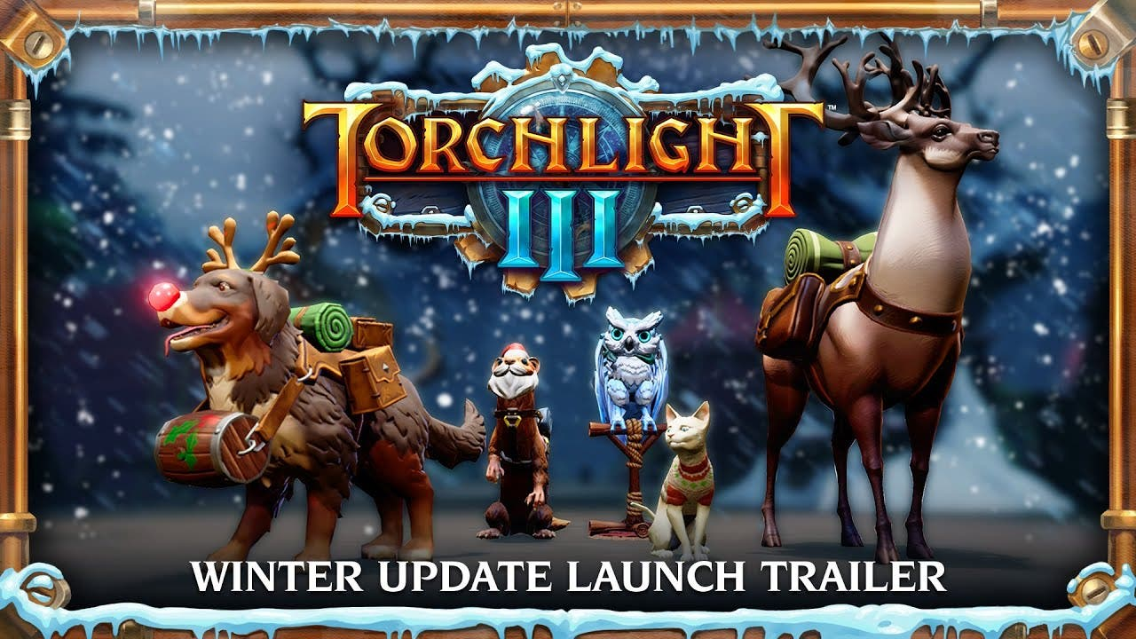 torchlight iii receives its larg