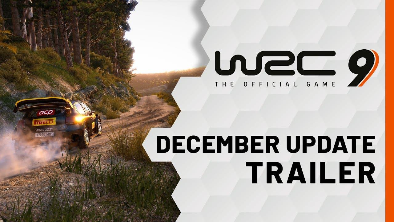 wrc 9s december update is here w