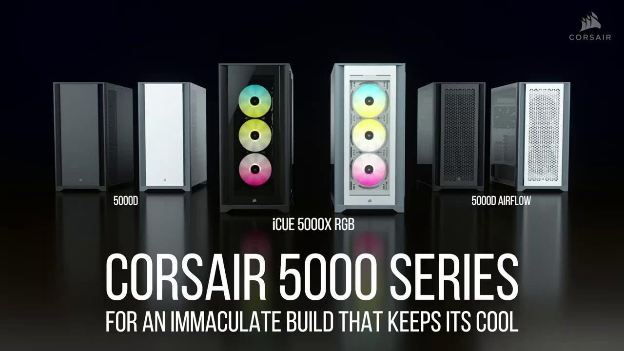 corsair unveils new 5000 series