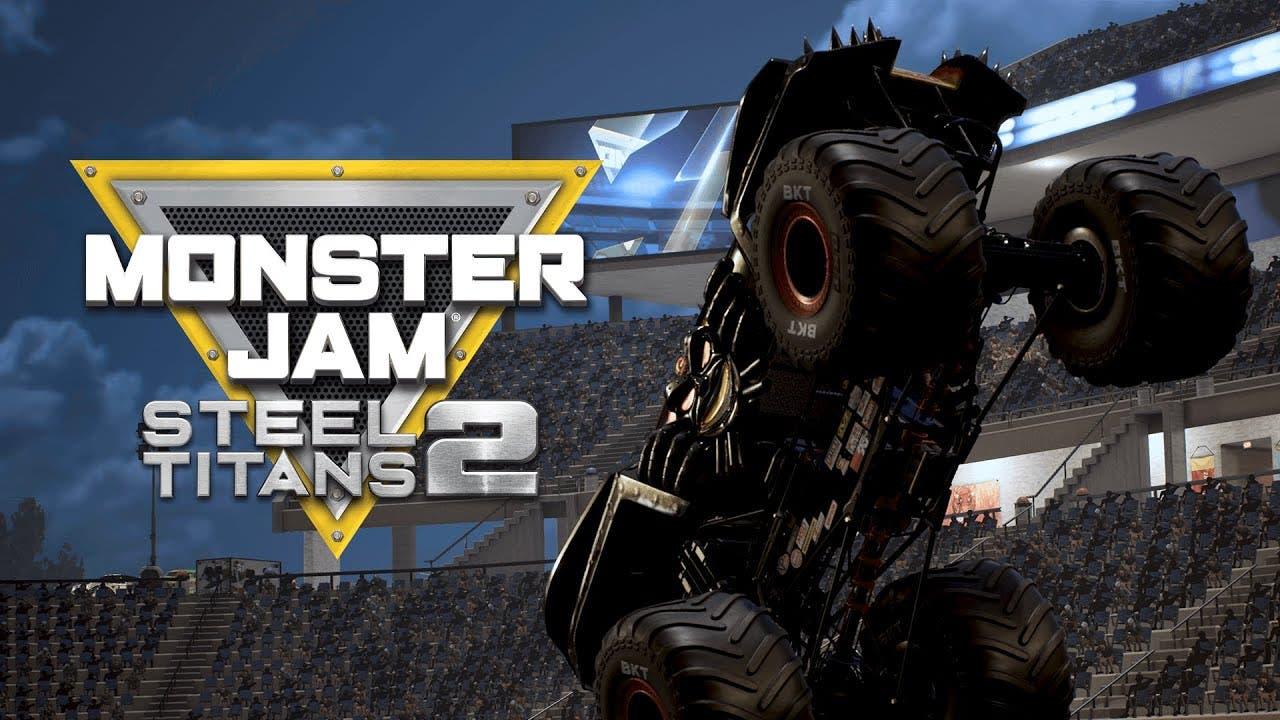 monster jam steel titans 2 annou