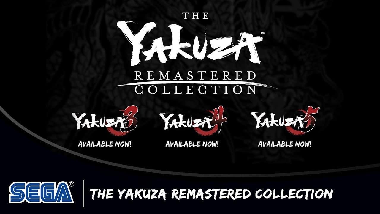 remastered yakuza 3 yakuza 4 and