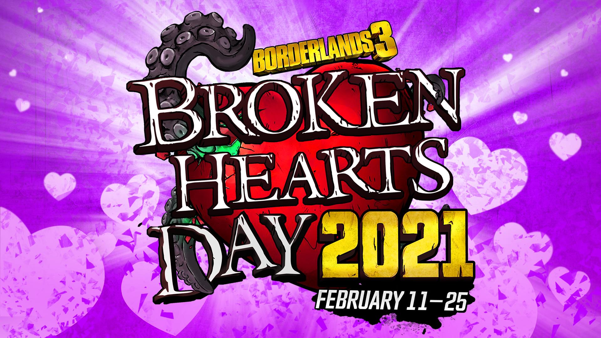 BL3 Broken Hearts 2021 Logo
