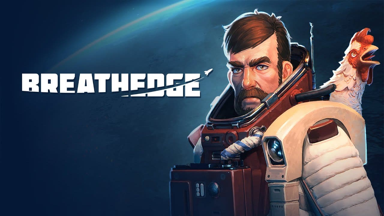 breathedge leaves the airlock of