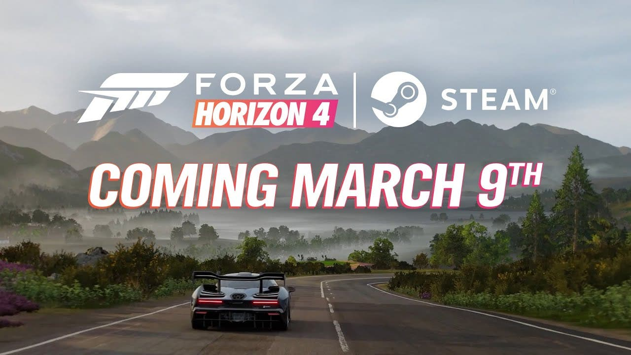 forza horizon 4 is racing to ste