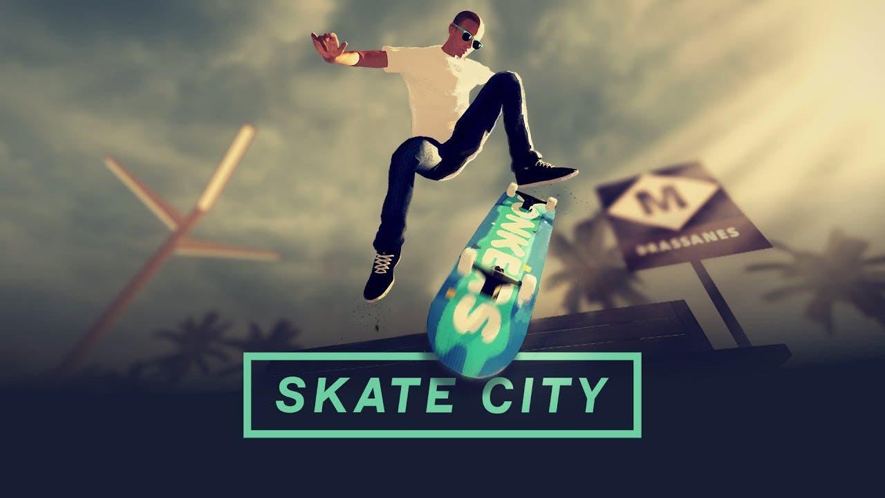 skate city is a dreamy skateboar
