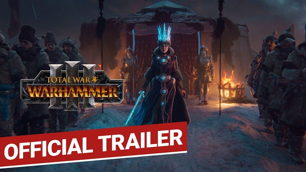 total war warhammer iii announce