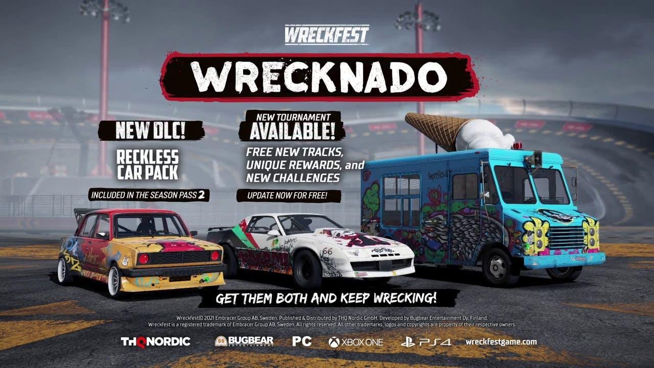 wreckfest gets new car pack dlc