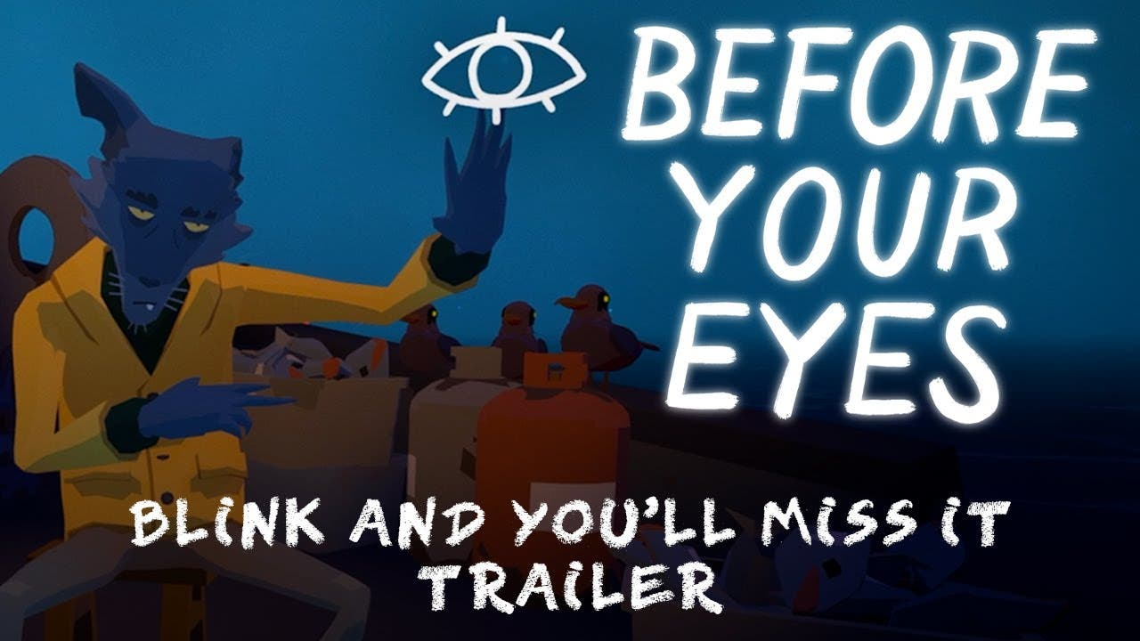 before your eyes is a narrative