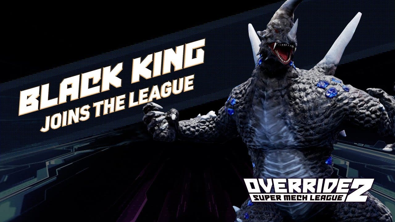 black king from ultraman comes t