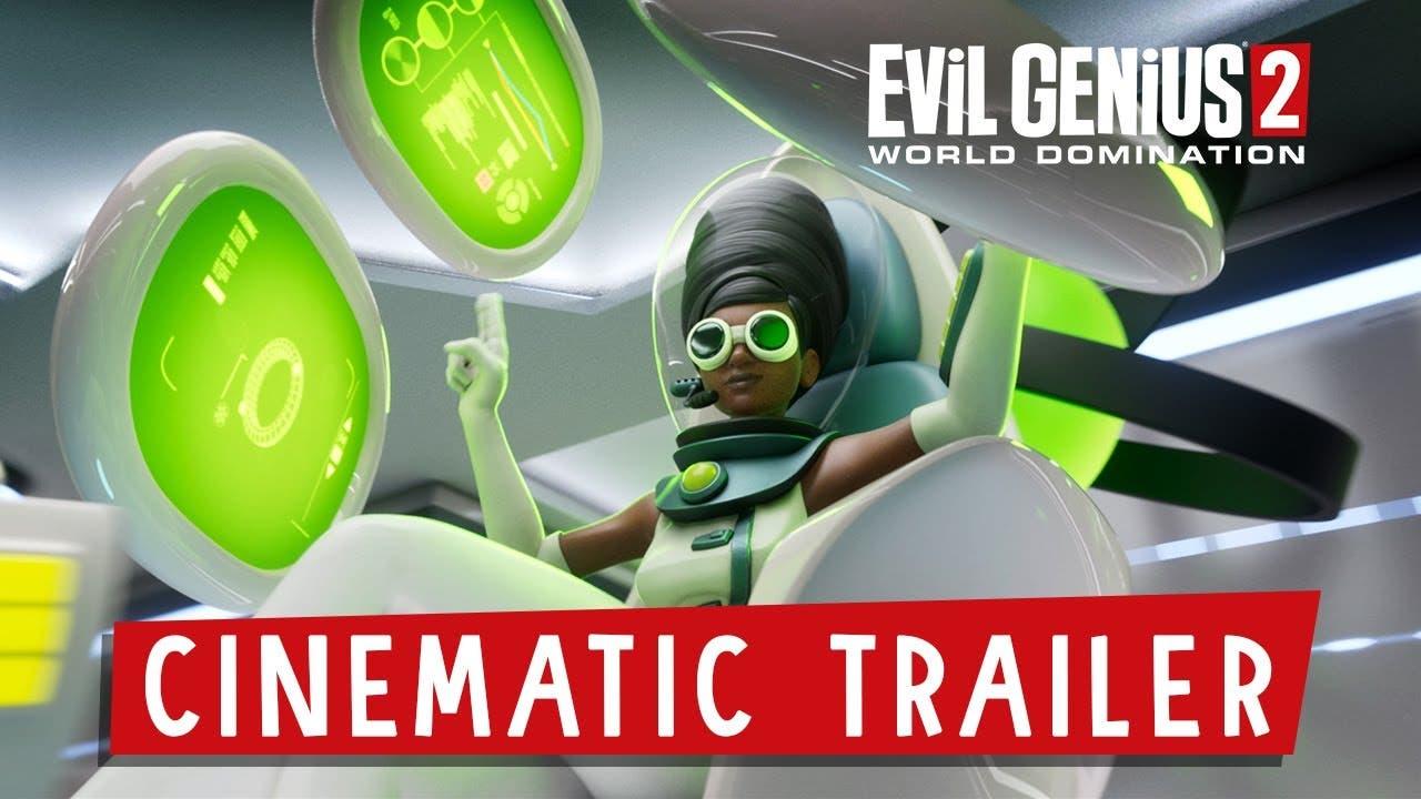 cinematic trailer for evil geniu