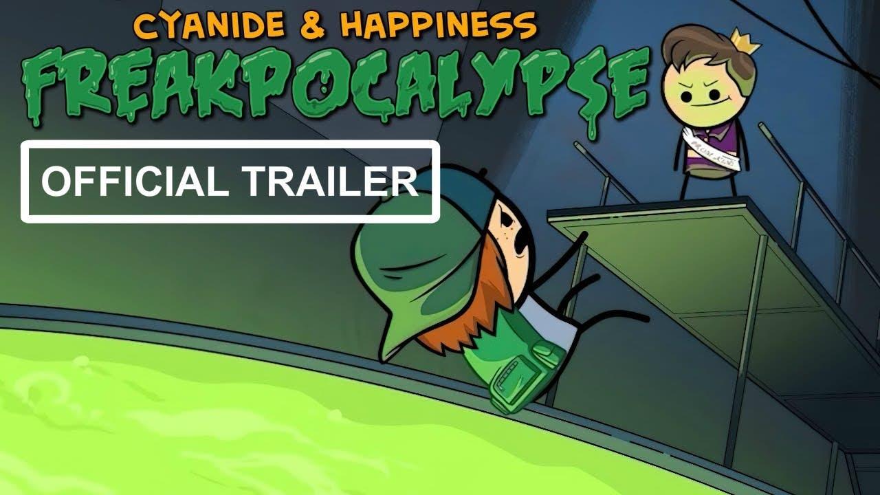 cyanide happiness freakpocalyse