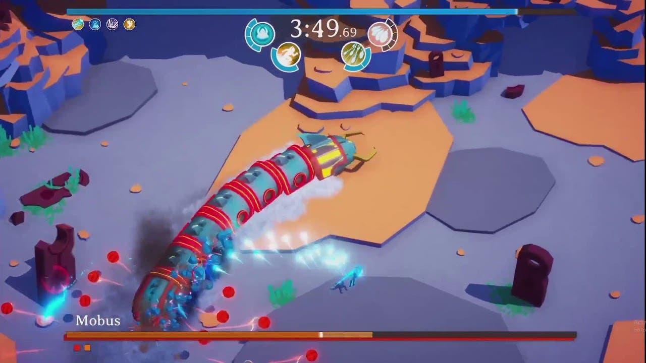godstrike is a boss rush bullet