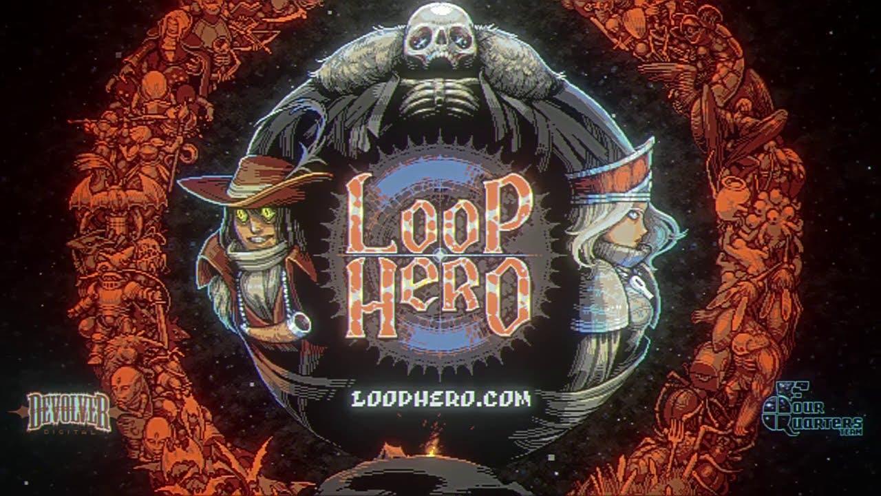 launch trailer for loop hero dro