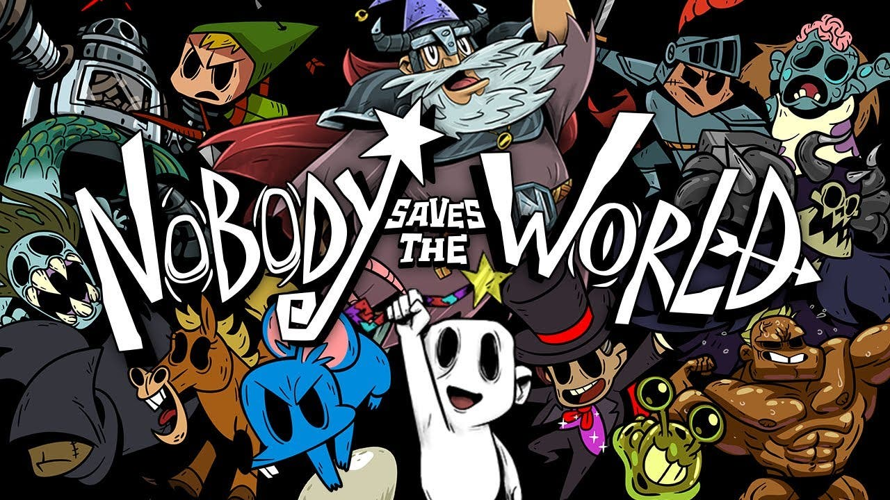 nobody saves the world is an act
