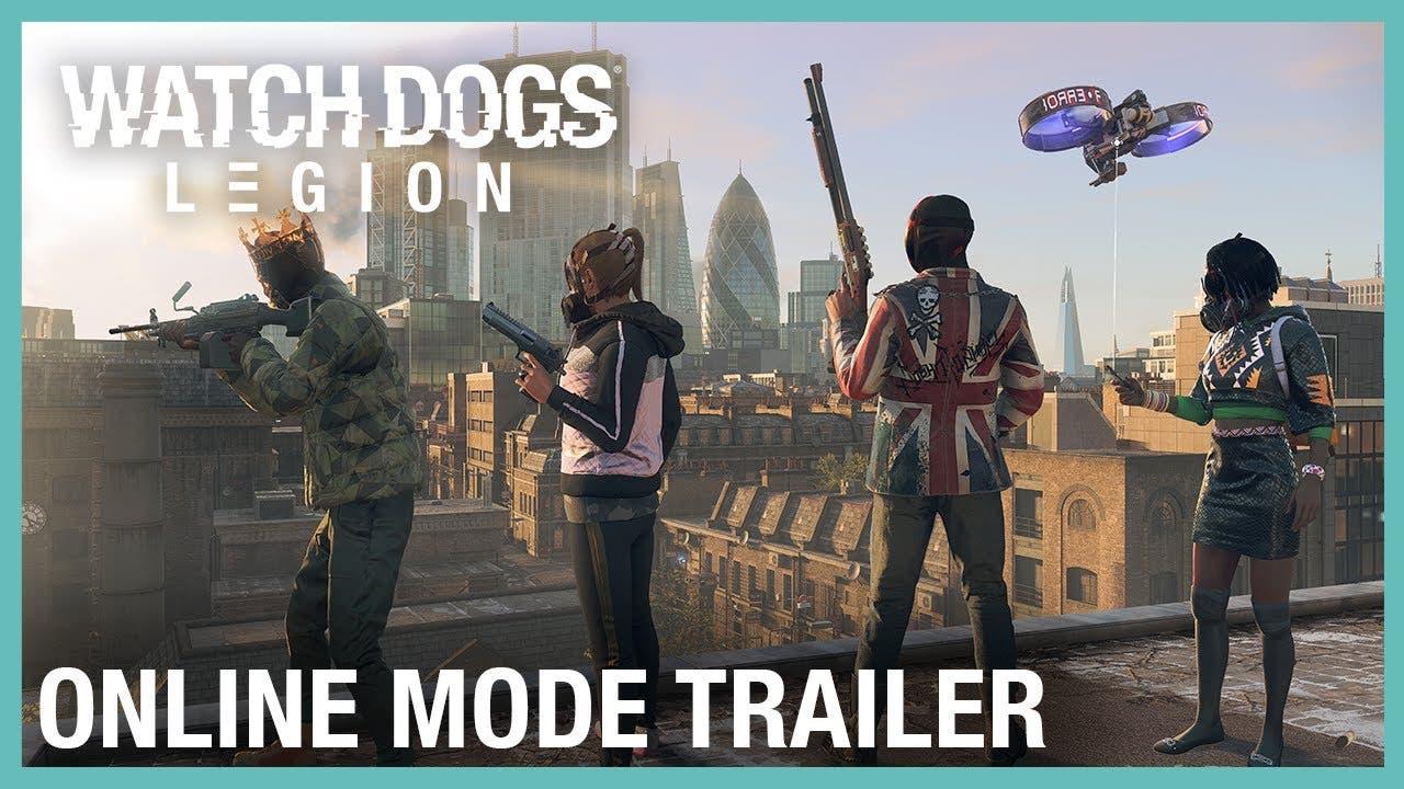 online mode for watch dogs legio