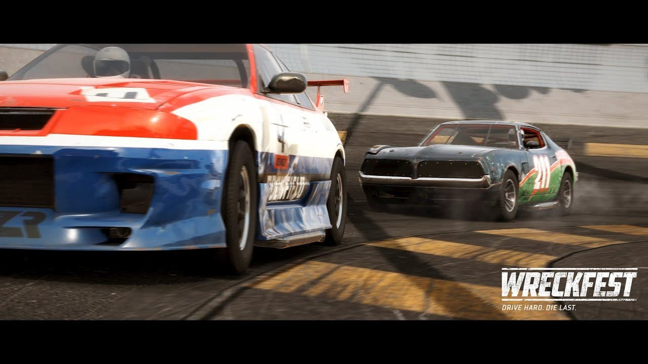 wreckfest is coming to playstati