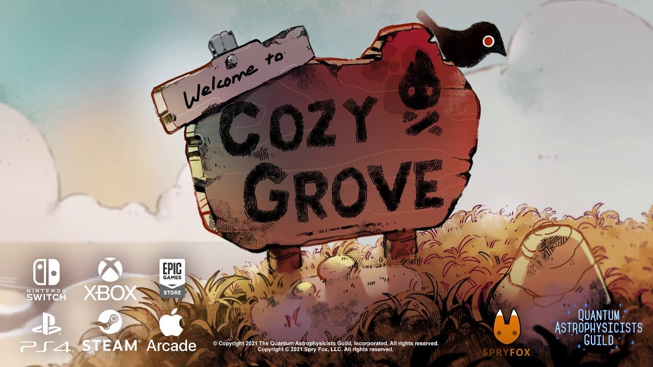 chill life sim cozy grove is now