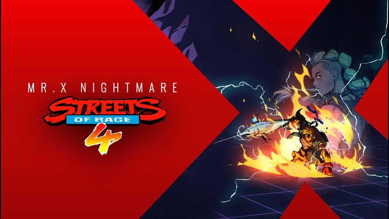 first dlc for streets of rage 4