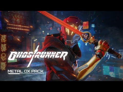 ghostrunner receives metal ox pa