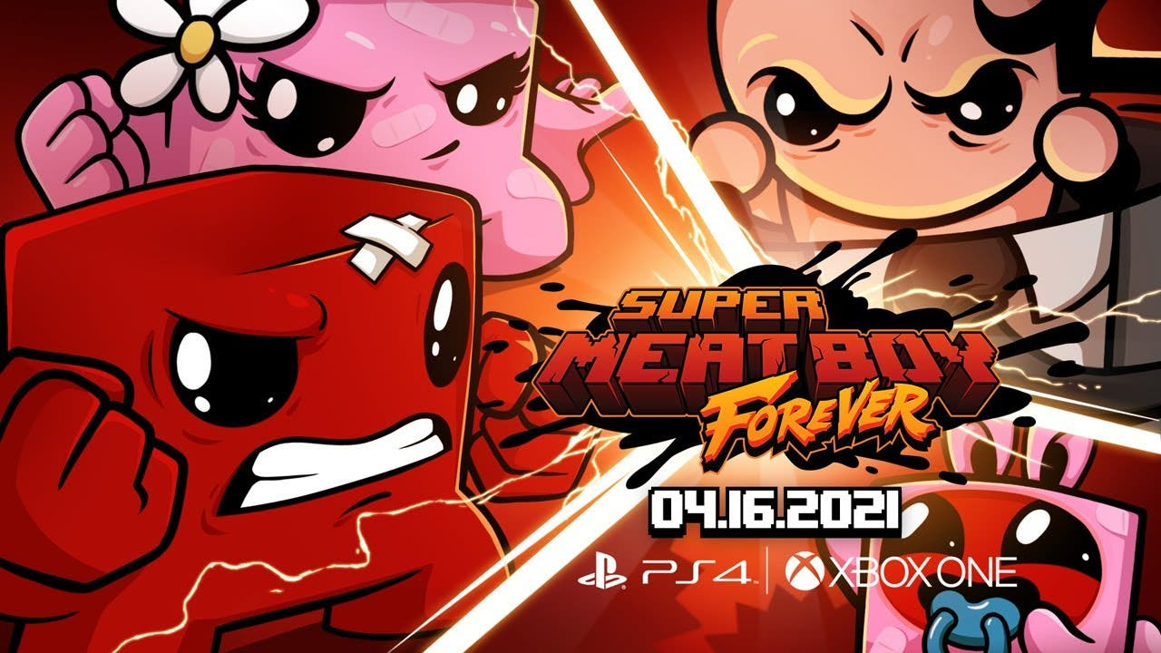super meat boy forever is out no