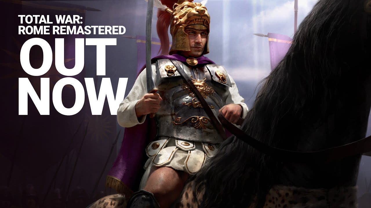 total war rome remastered is out