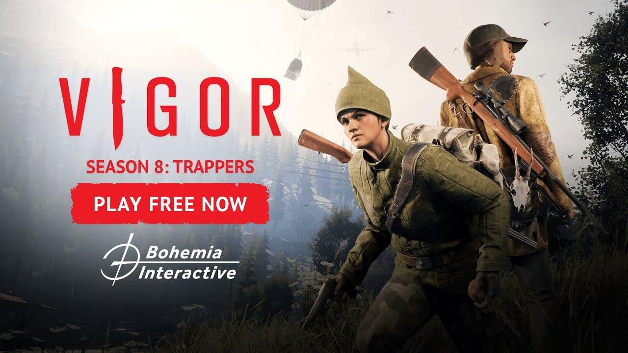 vigor begins season 8 trappers s