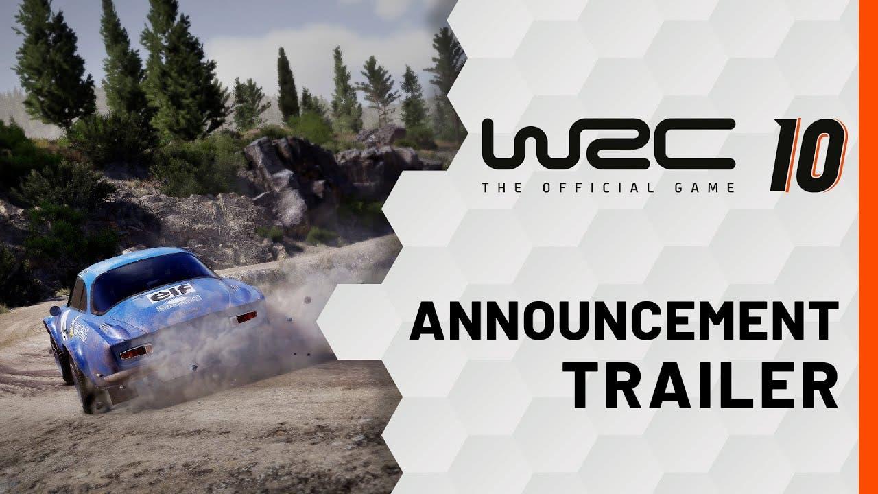 wrc 10 announced celebrate 50 ye