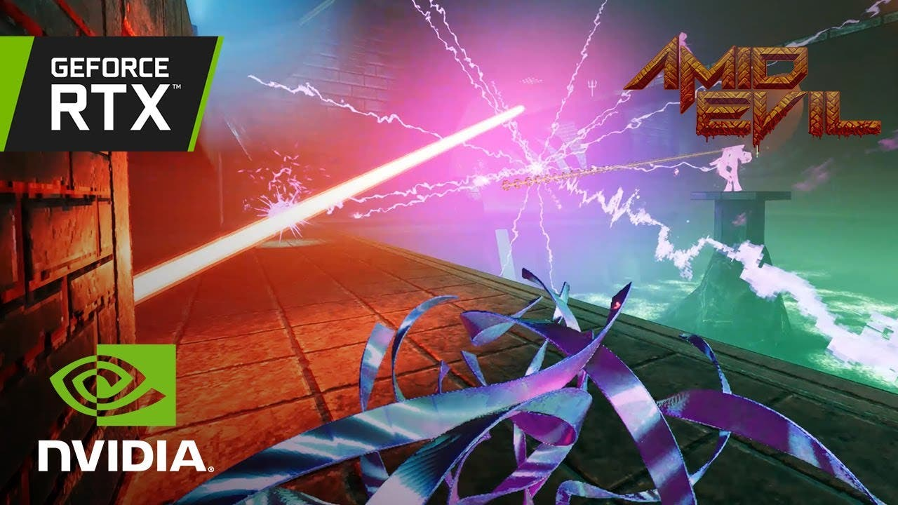 amid evil update brings ray trac
