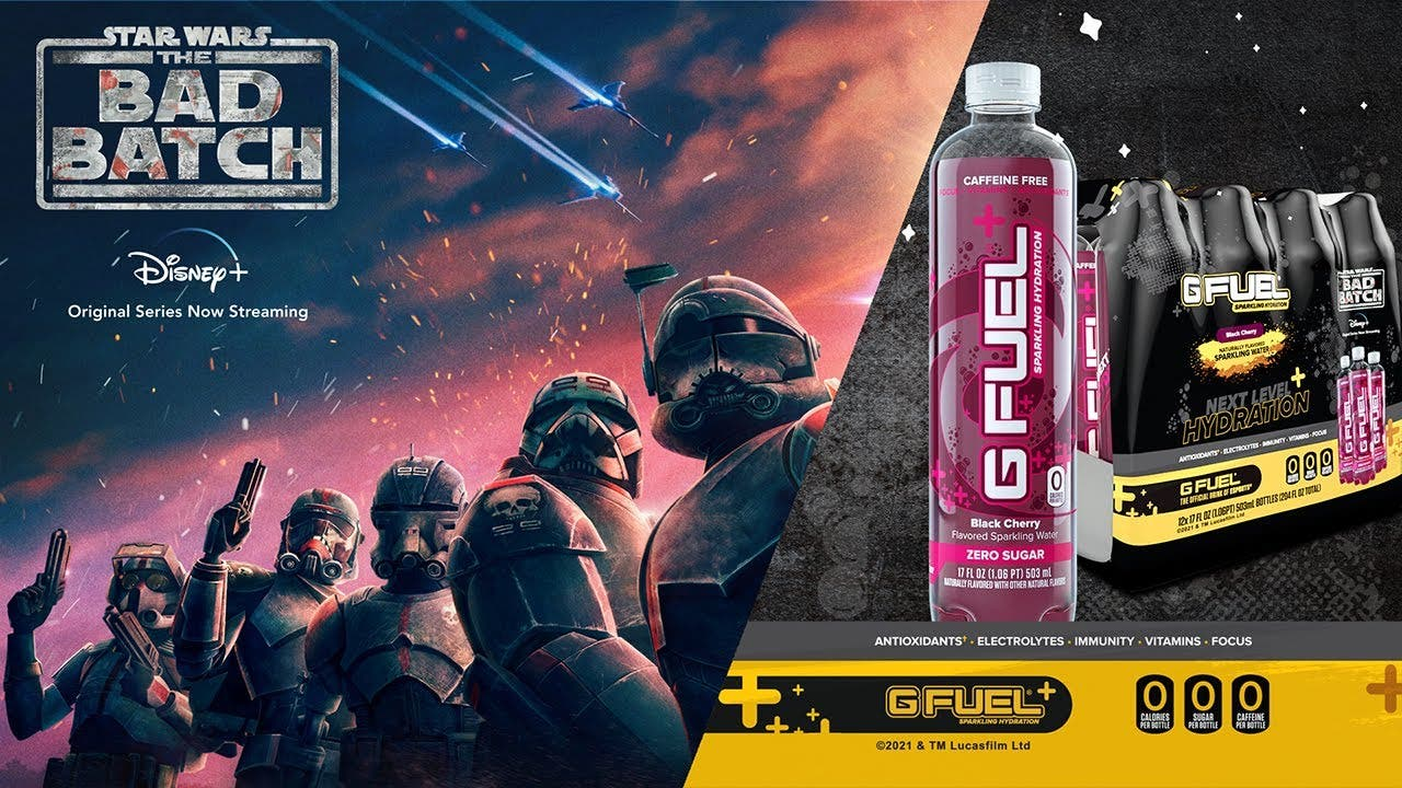 g fuel introduces sparkling hydr