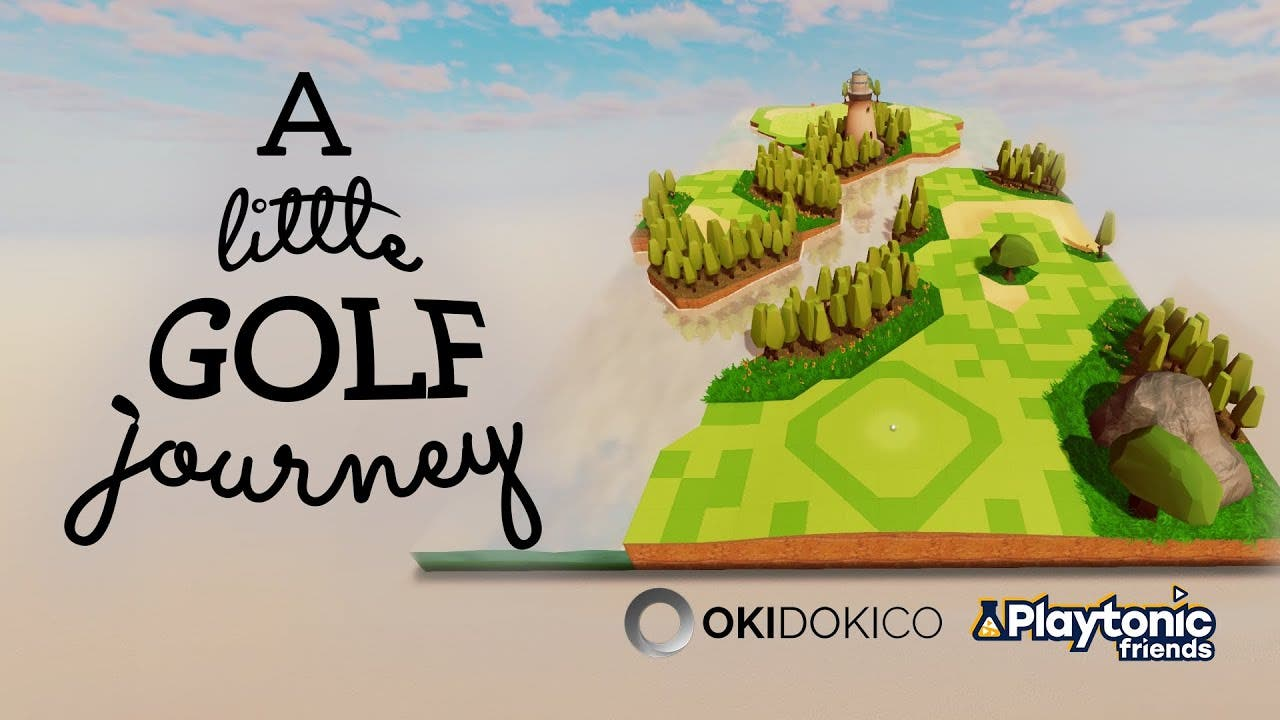 go on a little golf journey from