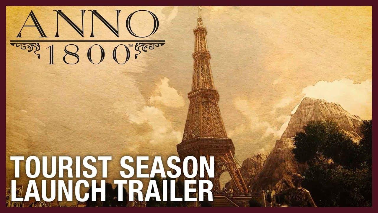 its tourist season in anno 1800