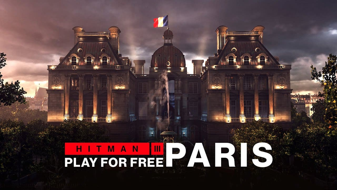 play paris for free in hitman 3