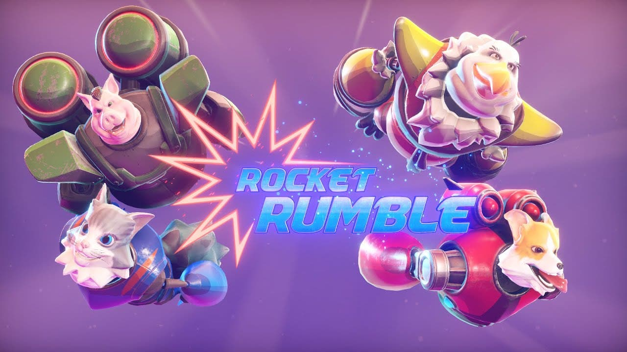 rocket rumble is a local and onl