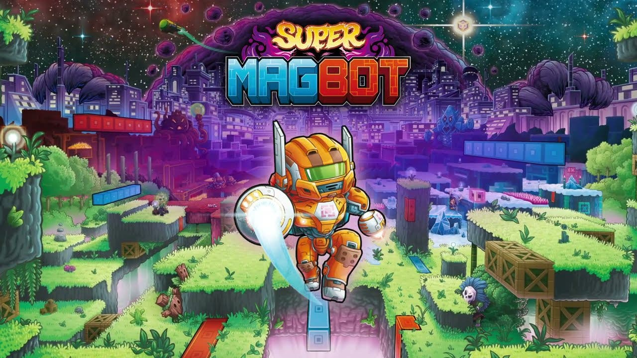 super magbot draws attraction to