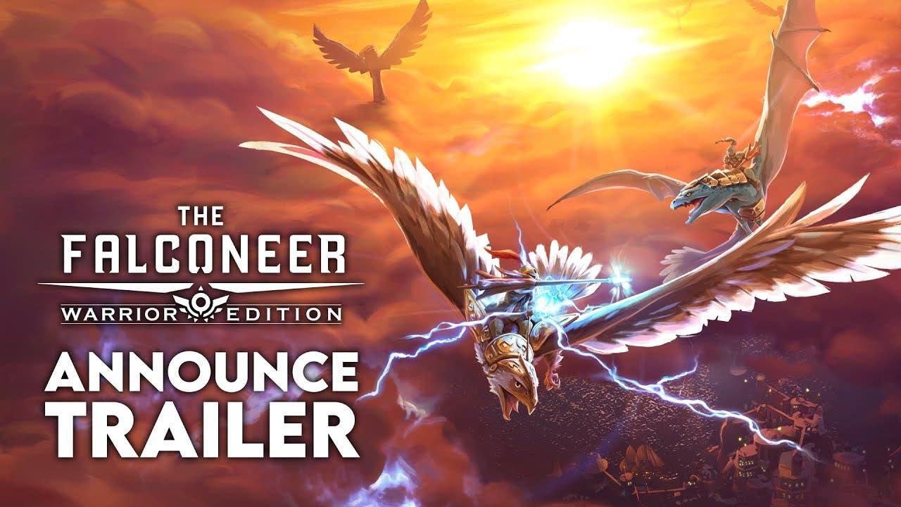the falconeer soars onto playsta