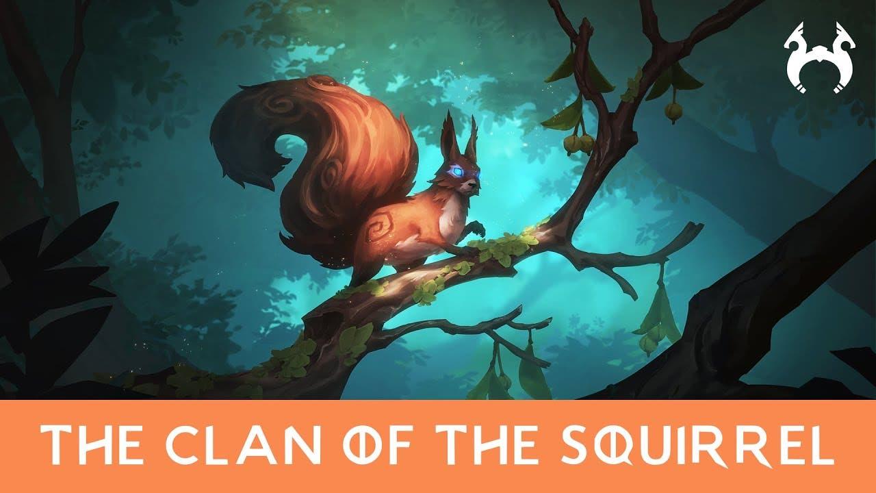 the squirrel clan has come to no