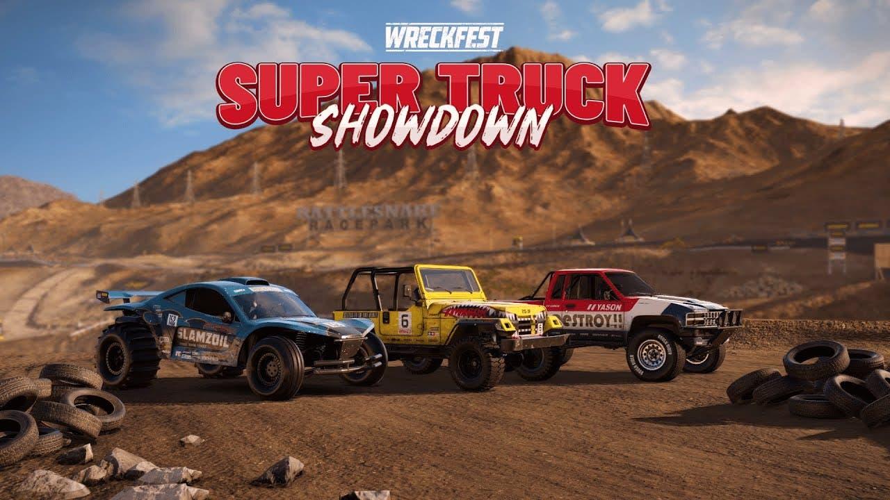 wreckfest begins new tournament