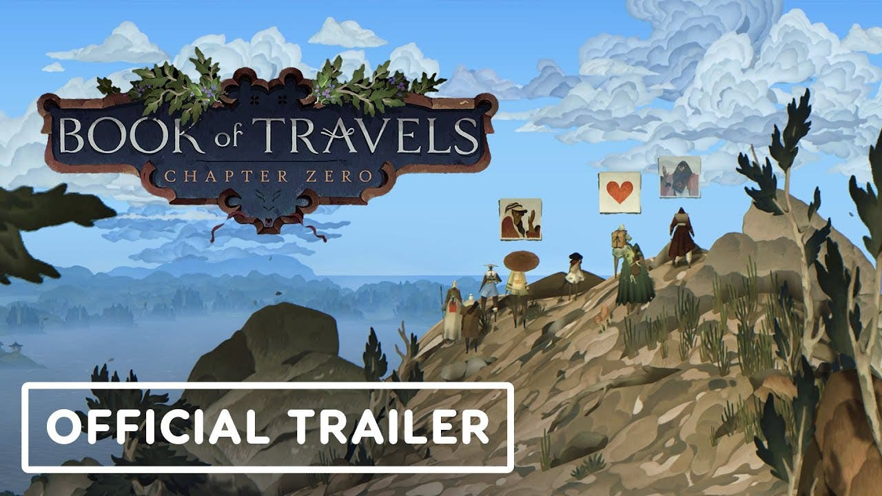 book of travels is set to releas