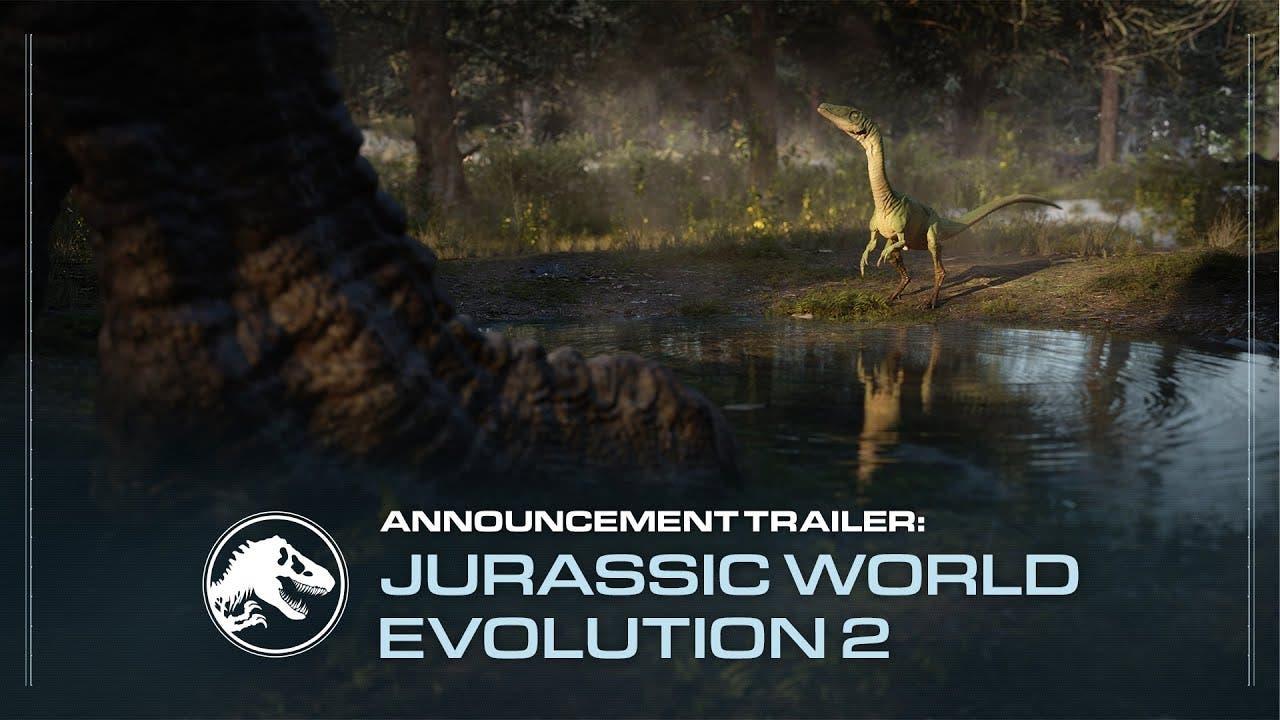 jurassic world evolution 2 annou