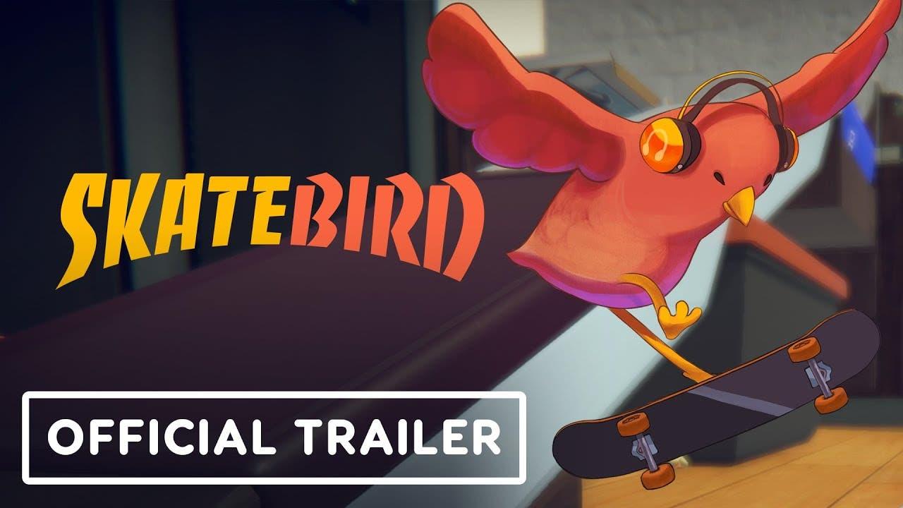 skatebird from glass bottom game