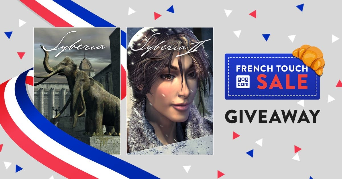 Syberia Giveaway GOG