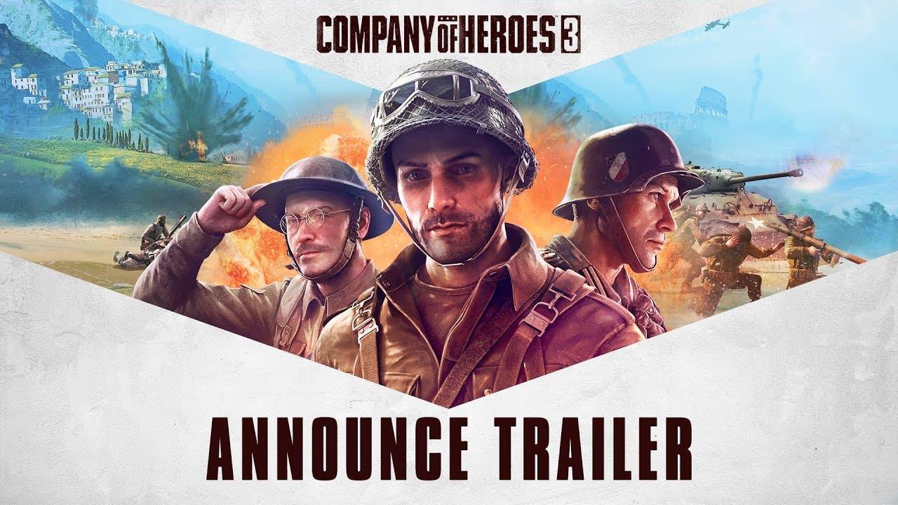 relic announces company of heroe