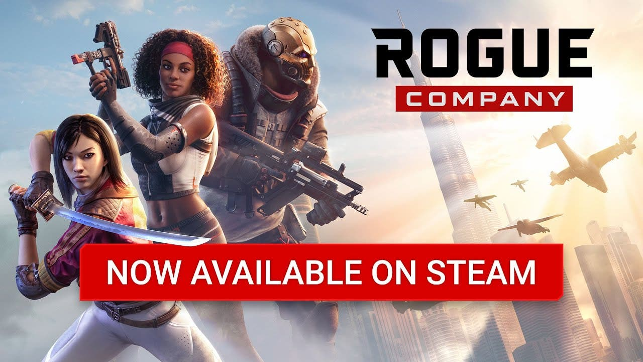 rogue company from hi rez is now