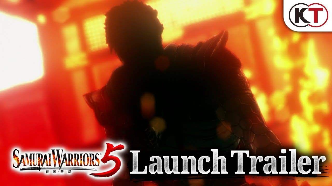 samurai warriors 5 is out today