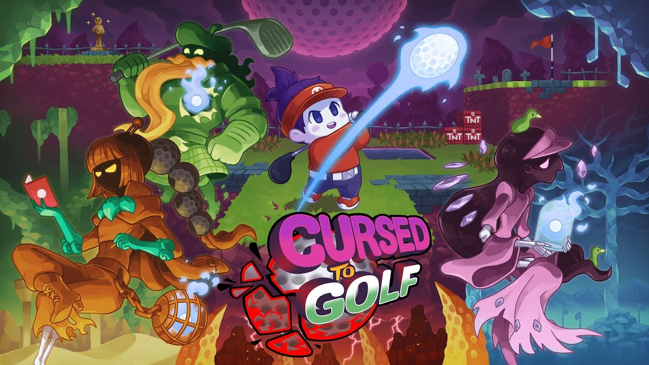 golfing roguelike cursed to golf
